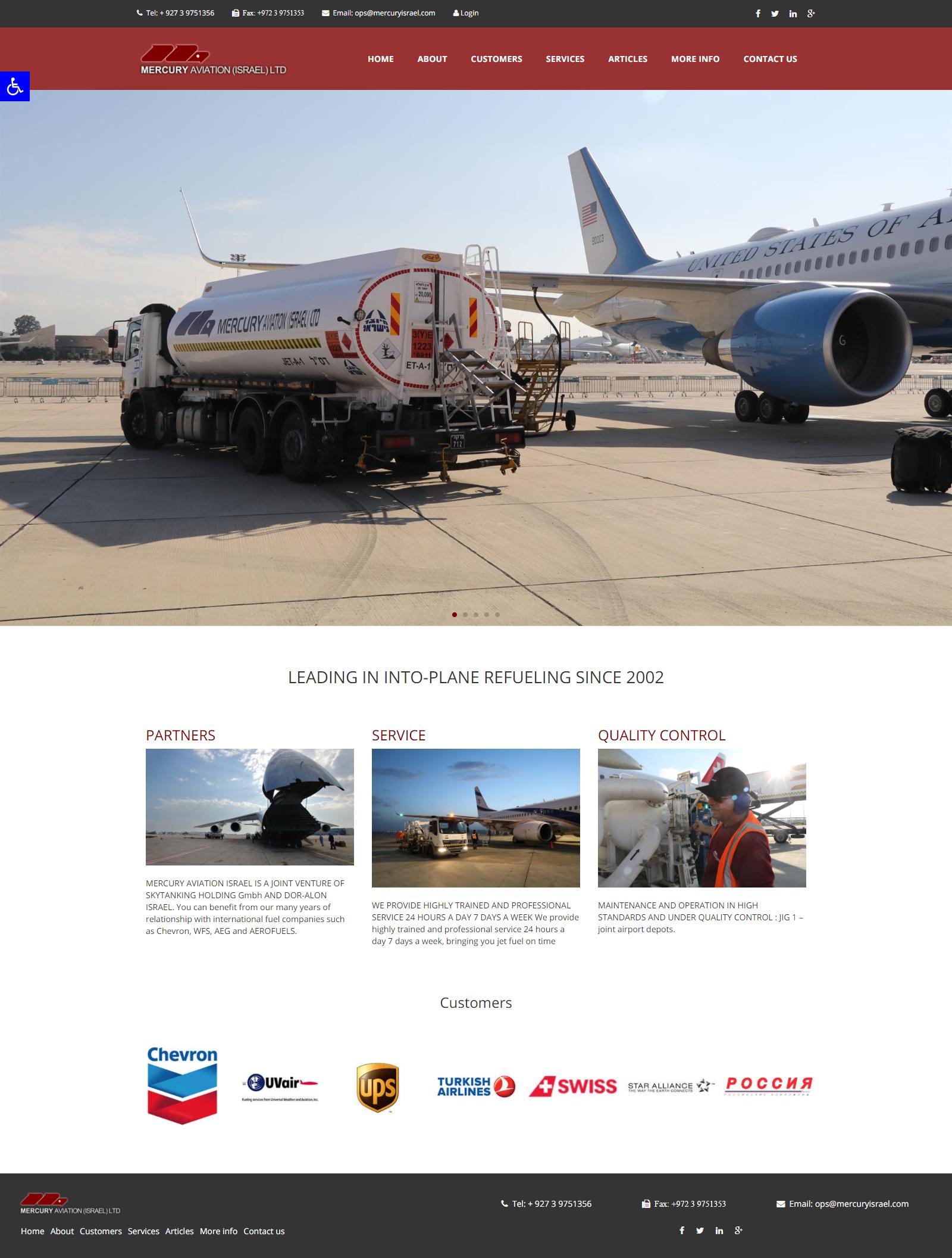 Mercury Aviation Israel Ltd