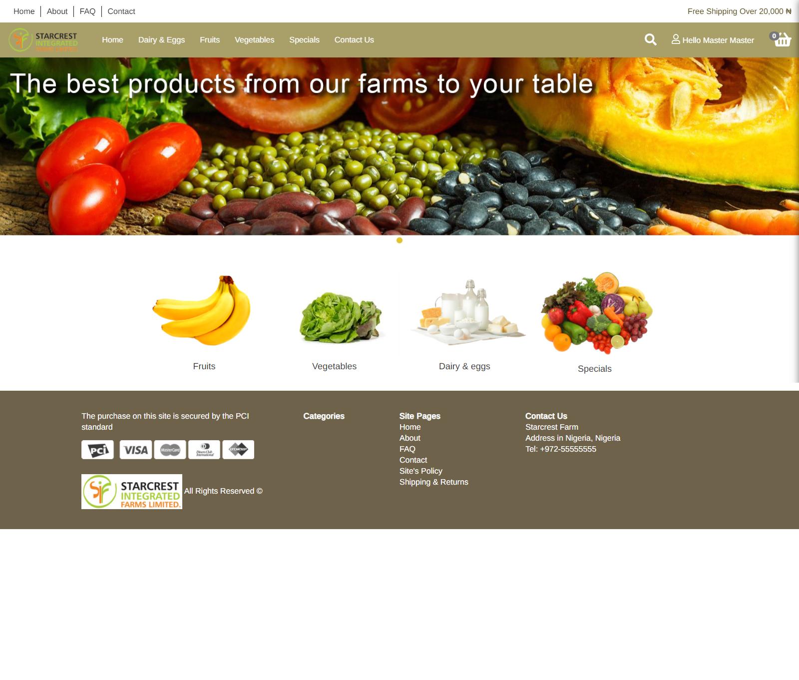 Star Crest Farm is an agricultural farm